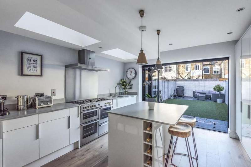 4 Bedrooms Terraced House for sale in Denison Road, Colliers Wood