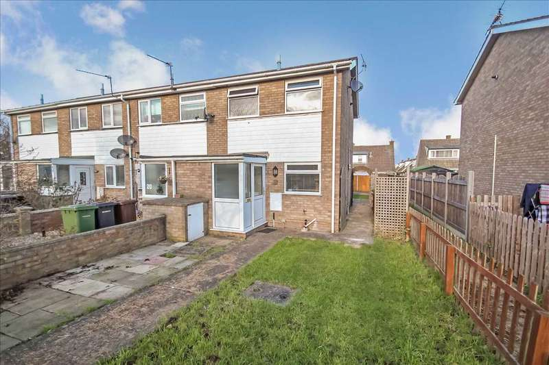 2 Bedrooms Terraced House for sale in Lisburn Close, Lincoln