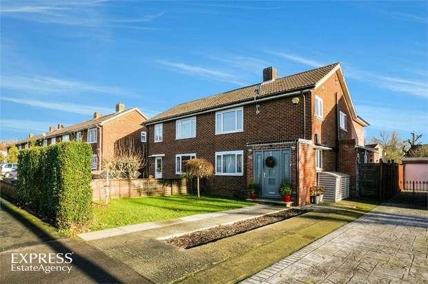 3 Bedrooms Semi Detached House for sale in Lowerfield, Welwyn Garden City, Hertfordshire
