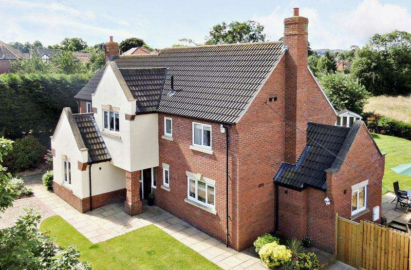 5 Bedrooms Detached House for sale in Church Lane, Long Clawson