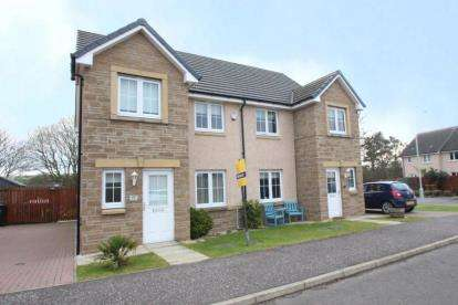 3 Bedrooms Semi Detached House for sale in Lochty Drive, Kinglassie