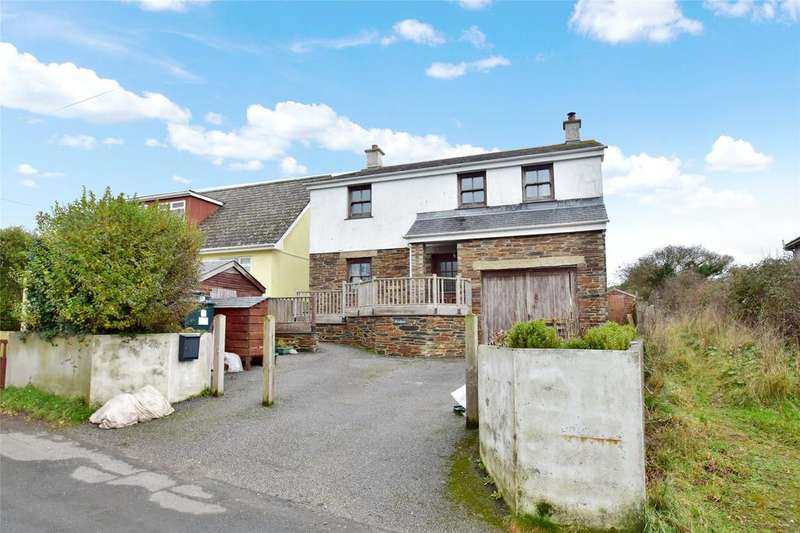 4 Bedrooms Detached House for sale in Station Road, St Newlyn East
