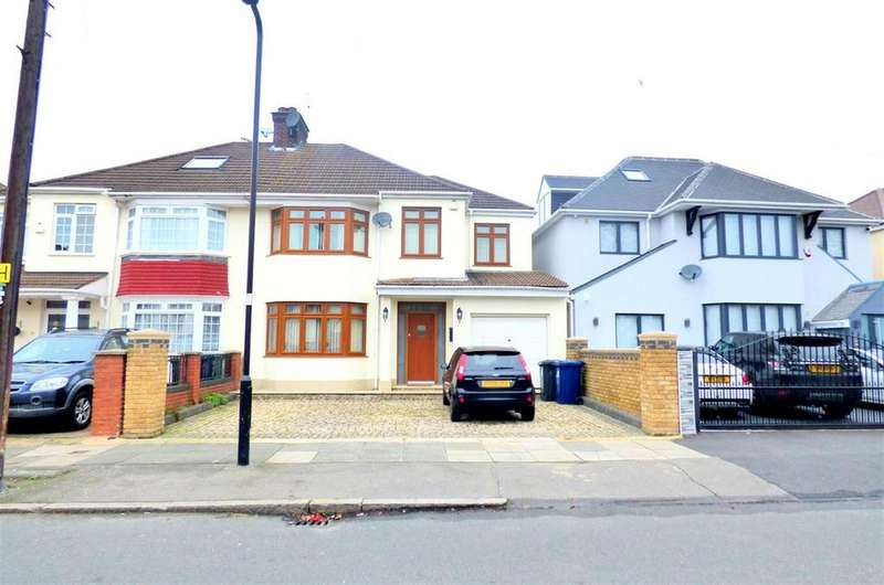 4 Bedrooms Semi Detached House for sale in Melbury Avenue, Norwood Green, UB2