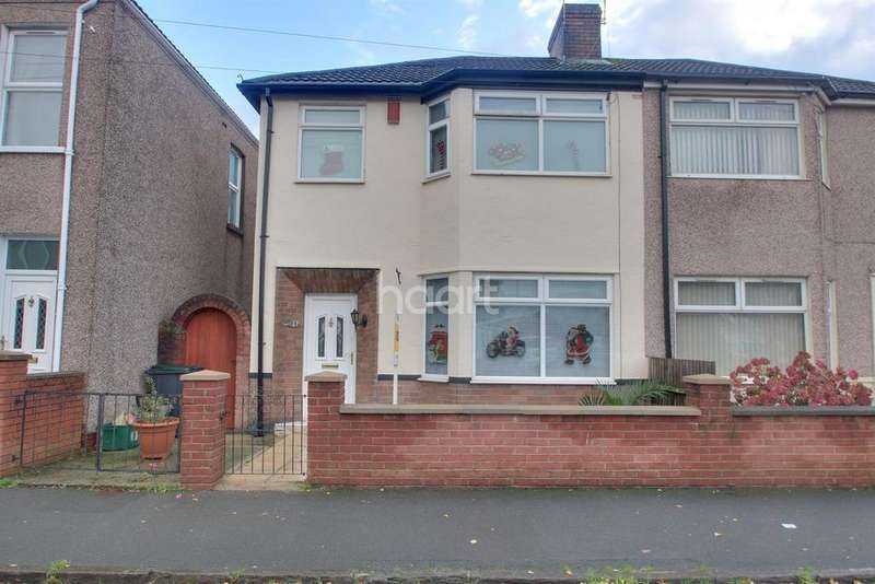 3 Bedrooms Semi Detached House for sale in Collingwood Road , Newport