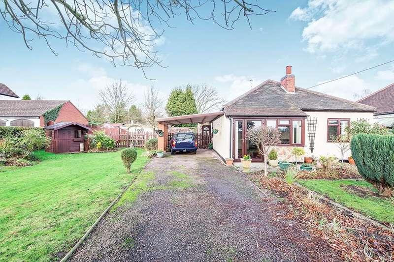 2 Bedrooms Detached Bungalow for sale in Grange Road, Nailstone, Nuneaton, CV13