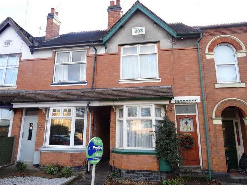 3 Bedrooms Terraced House for sale in Mount Road, Hinckley