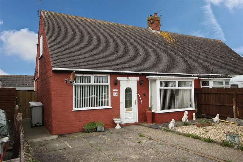 3 Bedrooms Semi Detached Bungalow for sale in Windsor Road, Mablethorpe