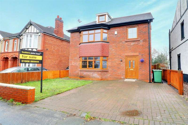 5 Bedrooms Detached House for sale in Swanlow Lane, Winsford