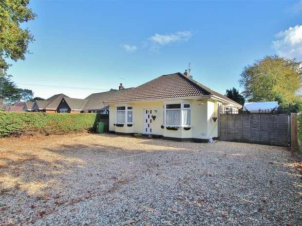 2 Bedrooms Detached Bungalow for sale in Ringwood Road, Alderney, POOLE, Dorset