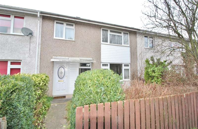 3 Bedrooms Terraced House for sale in Gresley Court, Grantham