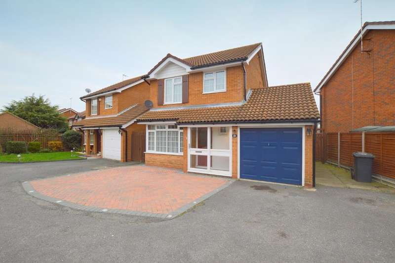 3 Bedrooms Detached House for sale in Ames Close, Barton Hills, Luton, LU3 4AS