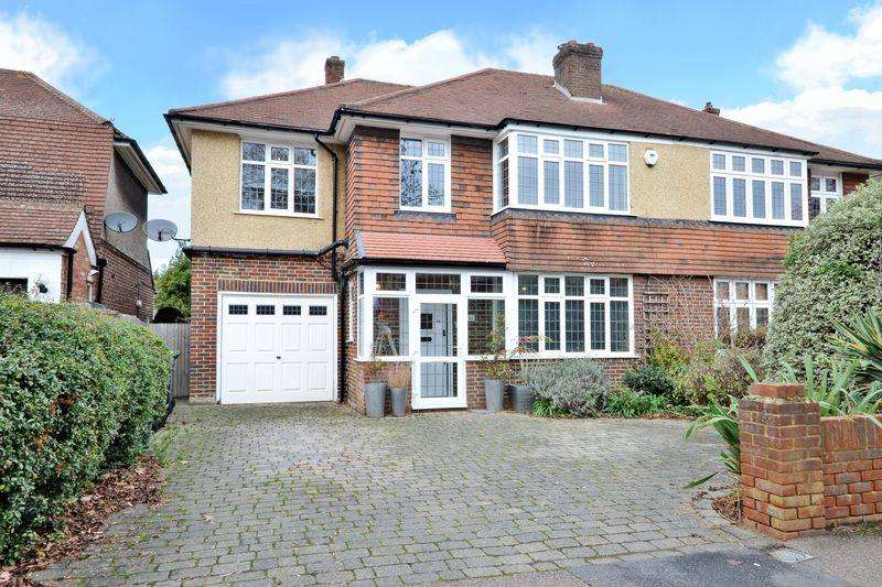 4 Bedrooms Semi Detached House for sale in Church Road, Old Malden,