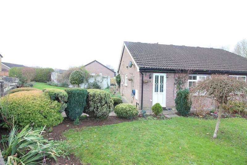 2 Bedrooms Semi Detached Bungalow for sale in Briar Close, Undy, Caldicot, NP26