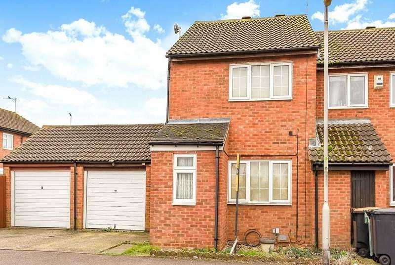 2 Bedrooms End Of Terrace House for sale in Conway Close, Houghton Regis, Dunstable, Bedfordshire
