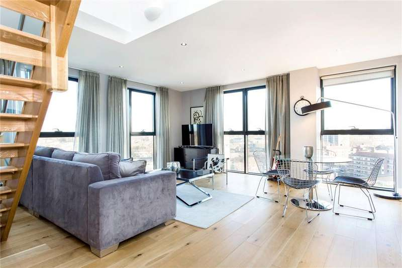 3 Bedrooms Penthouse Flat for sale in City Mill Apartments, Lee Street, Haggerston, E8