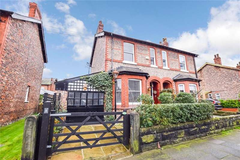 3 Bedrooms Semi Detached House for sale in Harcourt Road, Altrincham, Cheshire, WA14