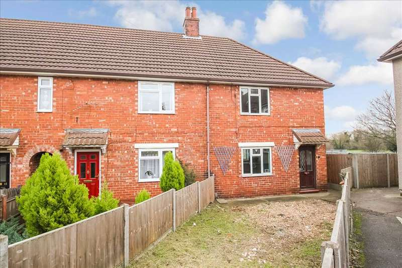 2 Bedrooms End Of Terrace House for sale in Prial Avenue, Lincoln