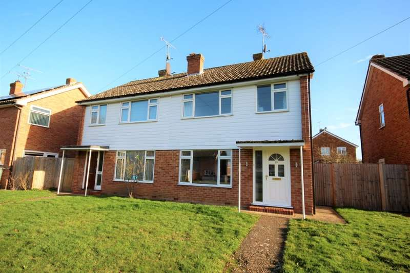 3 Bedrooms Semi Detached House for sale in Chaseside Avenue, Twyford, Reading, RG10