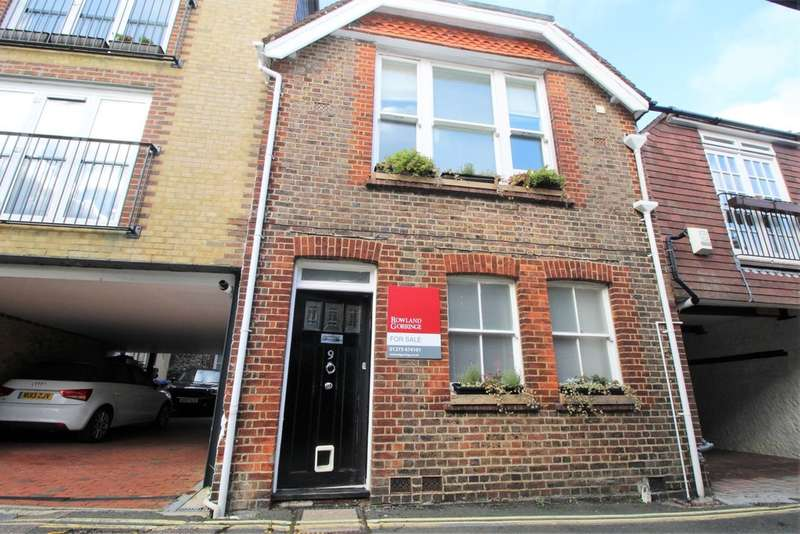 4 Bedrooms Semi Detached House for sale in Stewards Inn Lane, Lewes, BN7 1XP