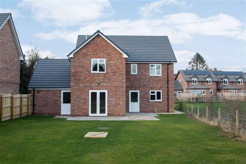 4 Bedrooms Detached House for sale in The Old Brickyard, LEOMINSTER, Leominster, Herefordshire