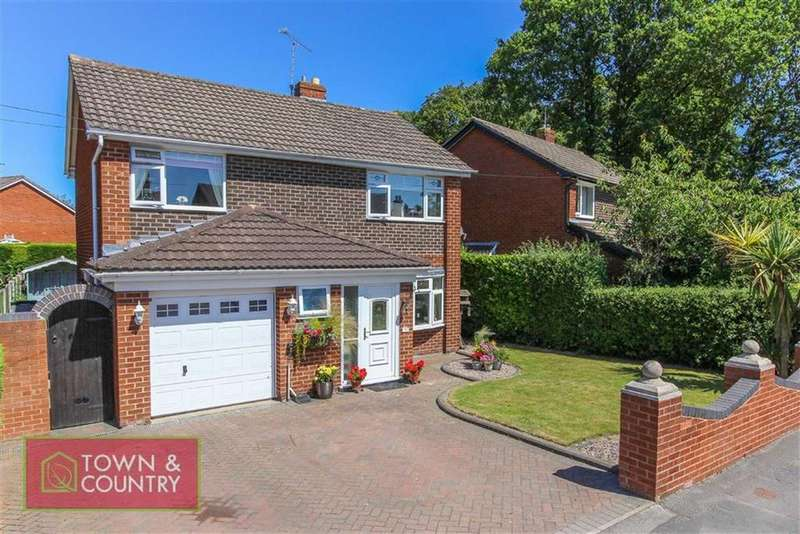 4 Bedrooms Detached House for sale in Higher Common Road, Buckley, Flintshire
