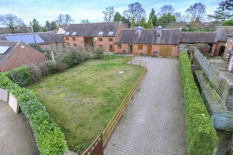 5 Bedrooms Barn Conversion Character Property for sale in The Old Hayloft, Brineton, Shifnal