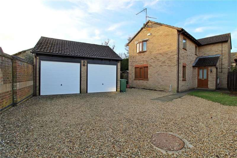 4 Bedrooms Detached House for sale in Chestnut Way, Market Deeping, Peterborough, PE6