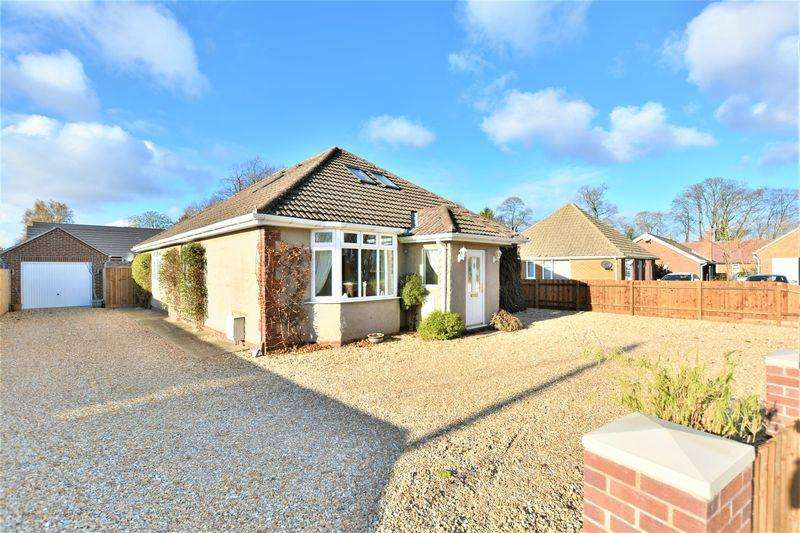 5 Bedrooms Detached Bungalow for sale in Grantham Road, Waddington, Lincoln
