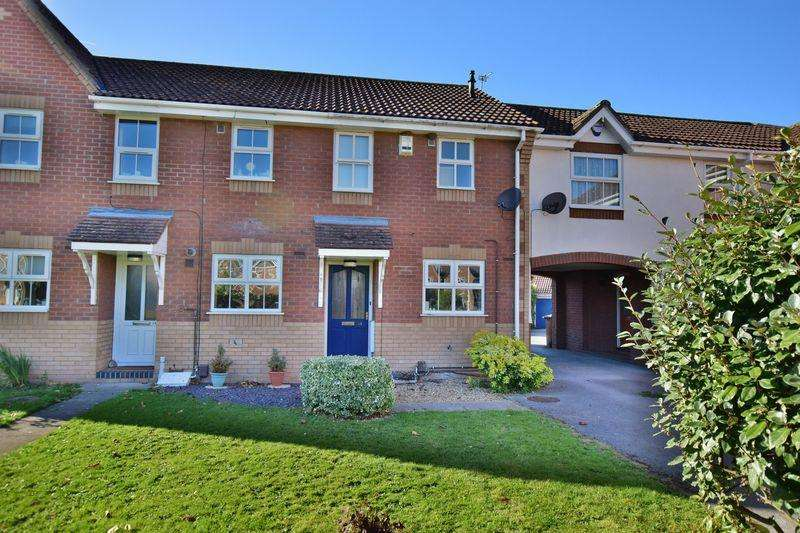 2 Bedrooms Terraced House for sale in Stirling Way, Skellingthorpe, Lincoln