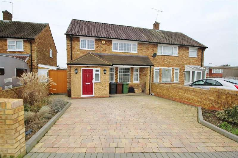 3 Bedrooms Semi Detached House for sale in Stanborough Avenue, Borehamwood