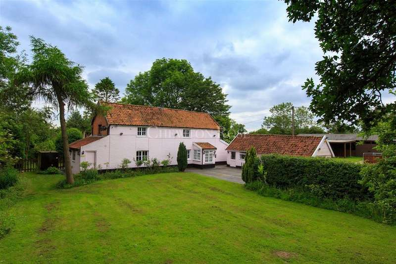 4 Bedrooms Detached House for sale in Tivetshall St Margaret, Close to Diss