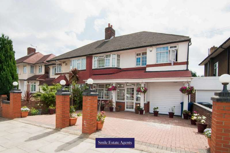 5 Bedrooms Semi Detached House for sale in Southall, UB2