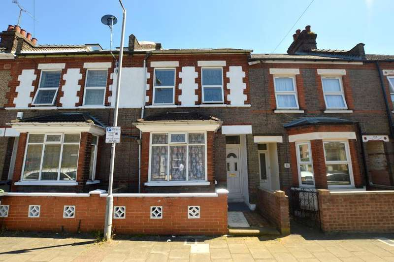 5 Bedrooms Terraced House for sale in Curzon Road, Luton, Bedfordshire, LU3 1BG