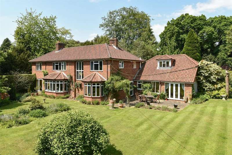 6 Bedrooms Detached House for sale in Southdown Road, Shawford, Winchester, Hampshire, SO21