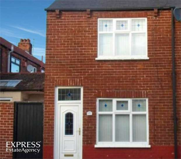 2 Bedrooms End Of Terrace House for sale in Cundall Road, Hartlepool, Durham