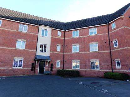2 Bedrooms Flat for sale in Stackyard Close, Thorpe Astley, Leicester, Leicestershire