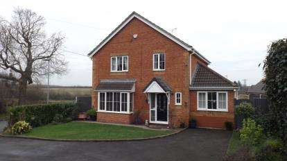 4 Bedrooms Detached House for sale in Maw Green Close, Crewe, Cheshire