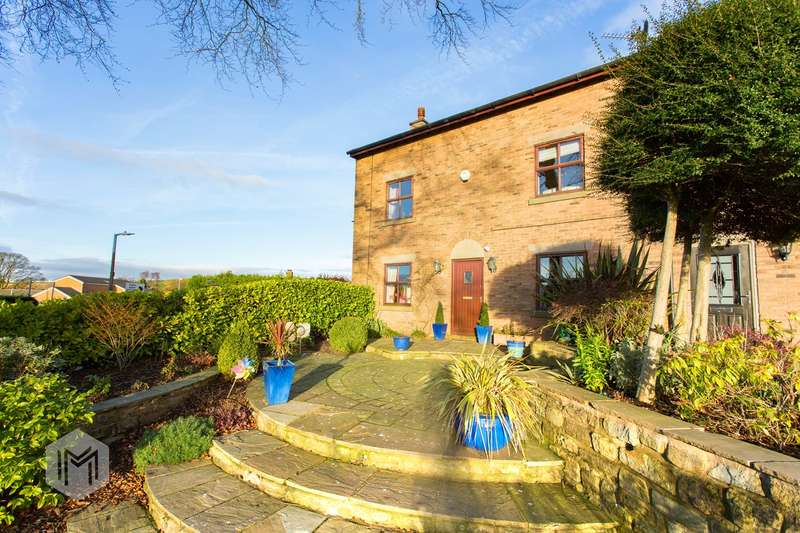 5 Bedrooms Barn Conversion Character Property for sale in The Gates, Harwood, BL2