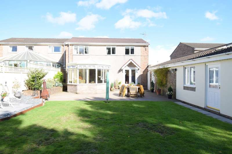 4 Bedrooms Detached House for sale in Weldon Close, Croesyceiliog, Cwmbran, NP44