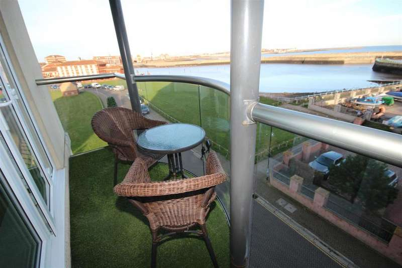 2 Bedrooms Apartment Flat for sale in Trafalgar House, Marina, Hartlepool