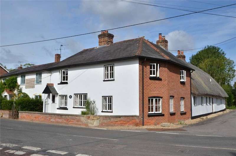 4 Bedrooms Semi Detached House for sale in Longparish, Andover, Hampshire, SP11