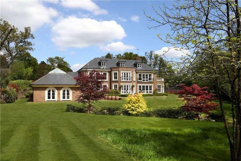 6 Bedrooms Detached House for sale in Keepers Walk, Wentworth Estate, Virginia Water, Surrey, GU25