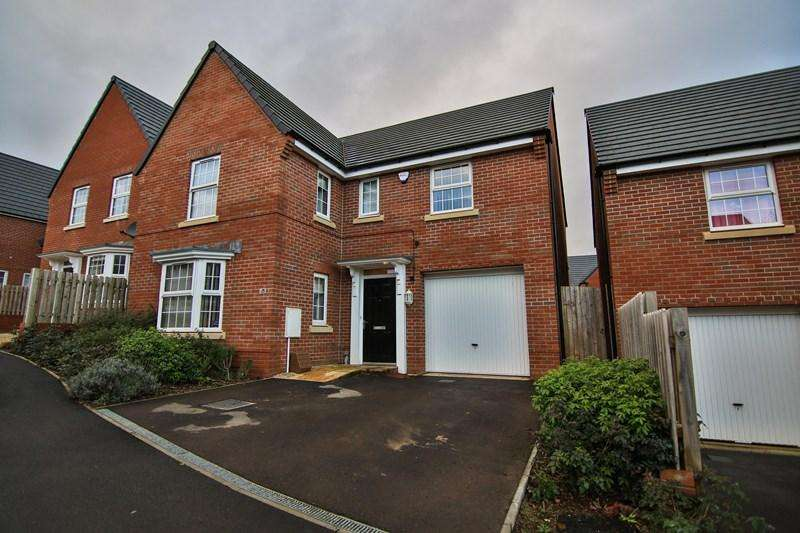 4 Bedrooms Detached House for sale in Blakes Way, Coleford