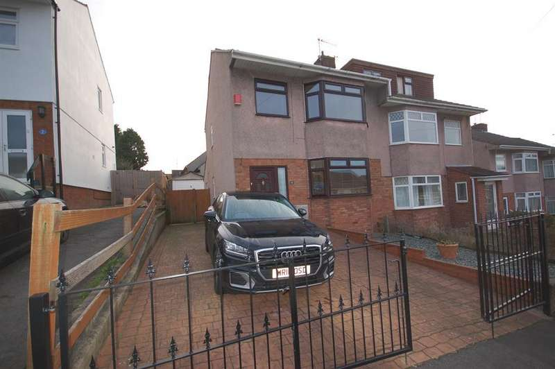 4 Bedrooms Semi Detached House for sale in Shelley Close, St George, Bristol, BS5 7HQ