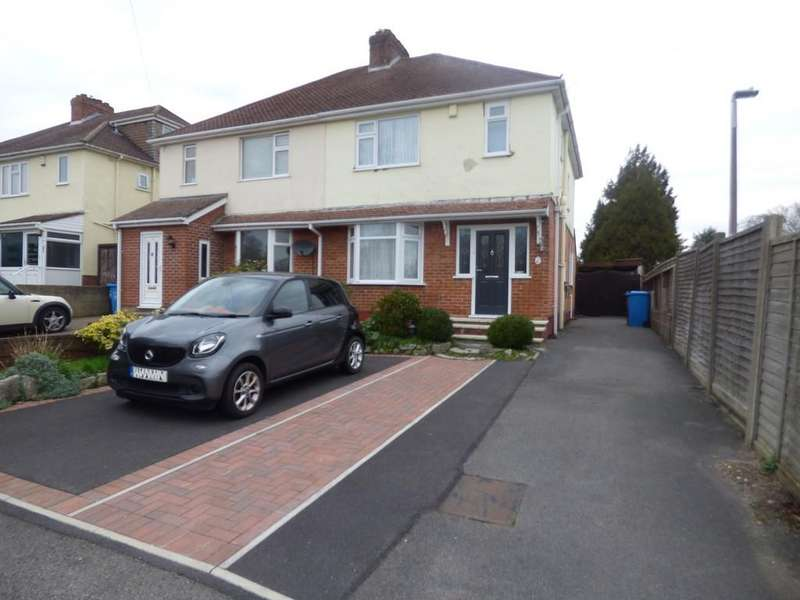 3 Bedrooms Semi Detached House for sale in Evering Avenue, Parkstone