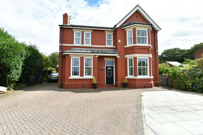 4 Bedrooms Detached House for sale in Church Road, Bickerstaffe