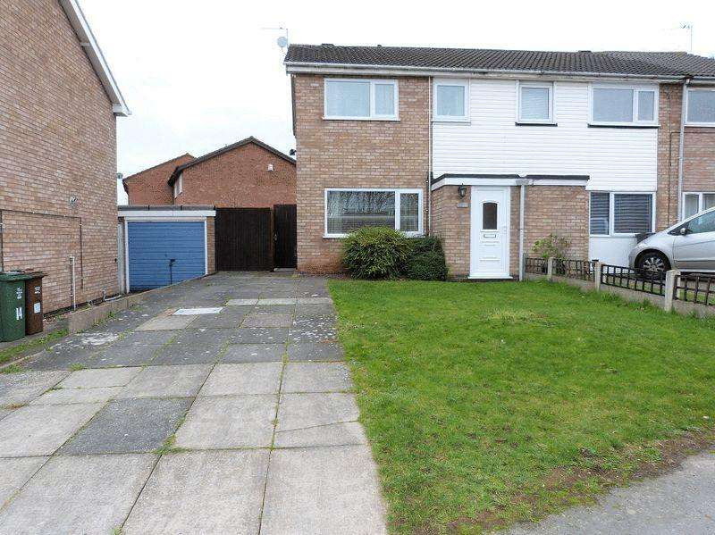 3 Bedrooms Semi Detached House for sale in Clayton Drive Thurmaston LE4 8LQ