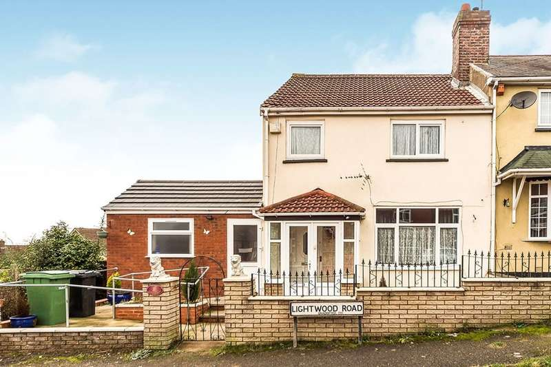 3 Bedrooms Semi Detached House for sale in Lightwood Road, Dudley, DY1