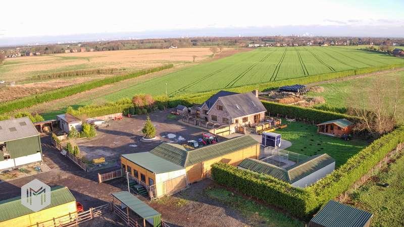 4 Bedrooms Equestrian Facility Character Property for sale in Glazebrook Lane, Glazebrook, Warrington, WA3