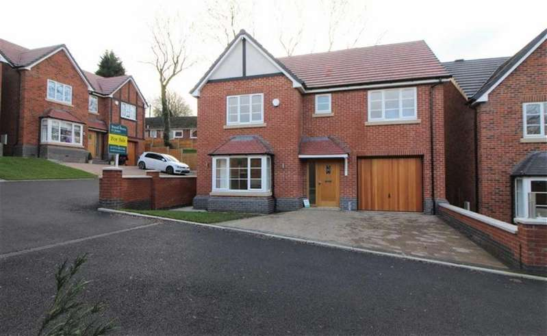 4 Bedrooms Detached House for sale in Kilbourne Court, Belper, Derbyshire